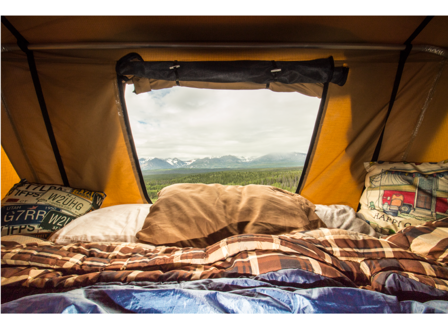One of many amazing views along the way. This off road campsite along Route 1 was overlooking the Kluane National Park and Preserve in Yukon, Canada.